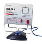 Квадра - активная комнатная антенна для приема цифрового и аналогового сигналов