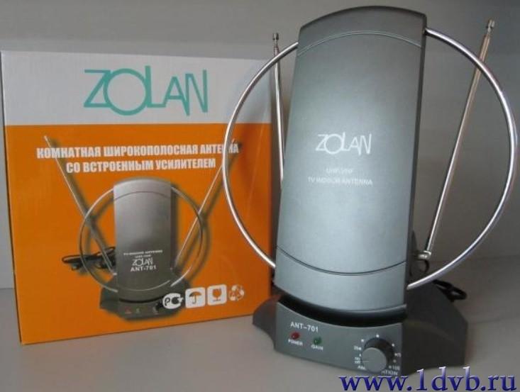 Домашняя антенна с усилителем