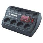 Стабилизатор Vinon VK-1000E (4 универ.розетки, мощность 800VA )